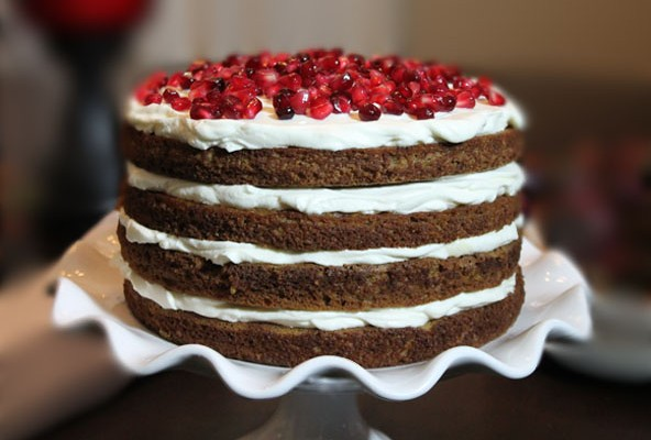 Holiday Pumpkin Cake